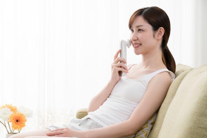 美顔器の使用頻度は週二回